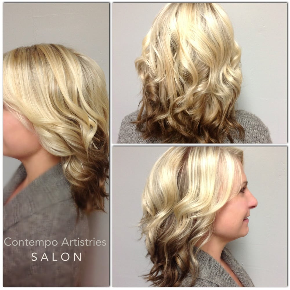 Reverse Ombre Contempo Artistries Salon