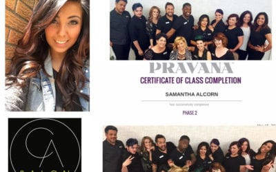 CA Stylist certified as Pravana Educator!