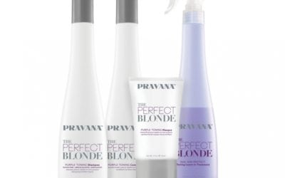 No more yellow! Perfect Blonde by Pravana